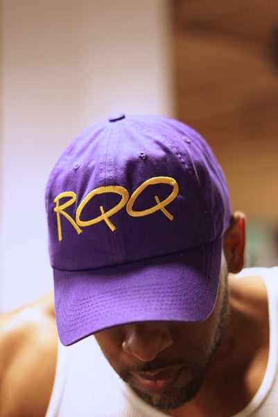 RQQ polo dad hat, purple