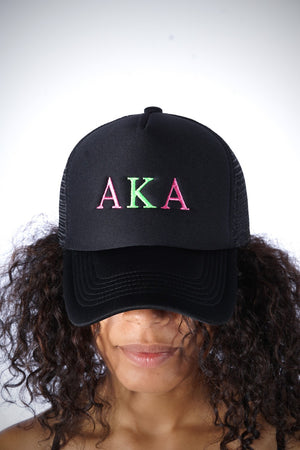AKA Southern Girl trucker, black