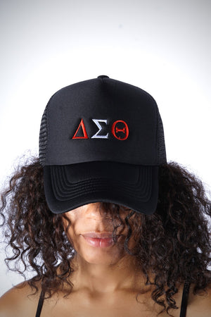 ΔΣΘ Southern Girl trucker, black