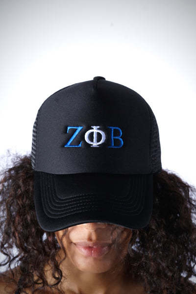ΖΦΒ Southern Girl trucker, black