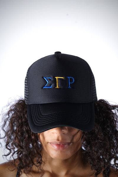 ΣΓΡ Southern Girl trucker, black