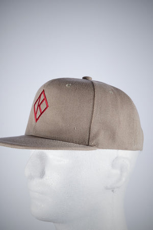 Diamond-K Klassic fitted cap, kream