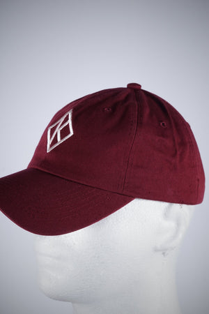 Diamond-K Klassic polo dad hat, krimson