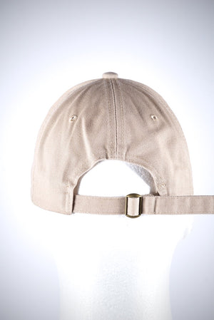Trunks Up polo dad hat, cream