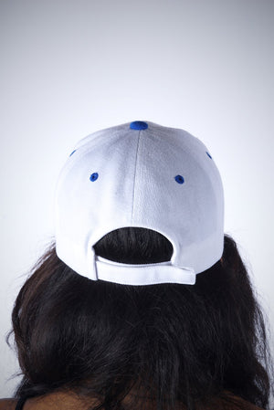 Made In 1920 cap, white/blue