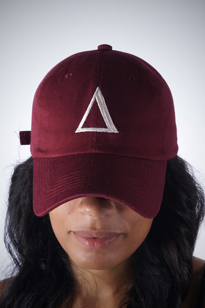 ∆ polo dad hat, crimson
