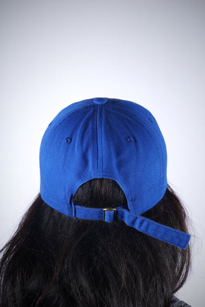 Zetas RUN polo dad hat, blue
