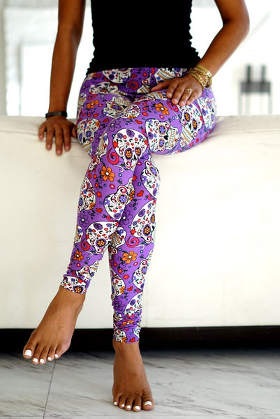 Boo Purple  Klassy leggings