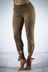 Total Eclipse dance capris, olive