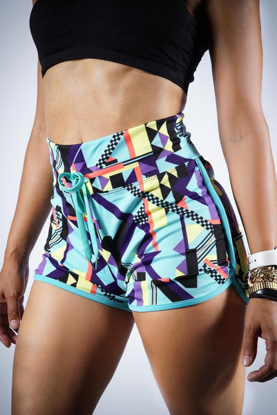 Nirvana high waist sport shorts