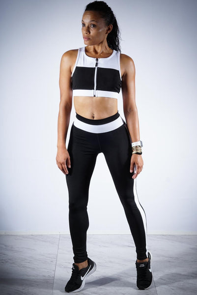 Born To Win v.1 leggings/sports-bra set