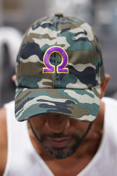 Ω polo dad hat, camouflage