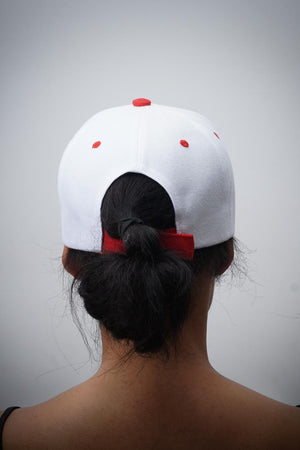 Made In 1913 cap, white/red