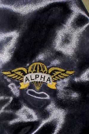 Air Assault Alpha Ape satin paratrooper jacket