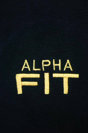 Alpha FIT polar fleece jacket, black