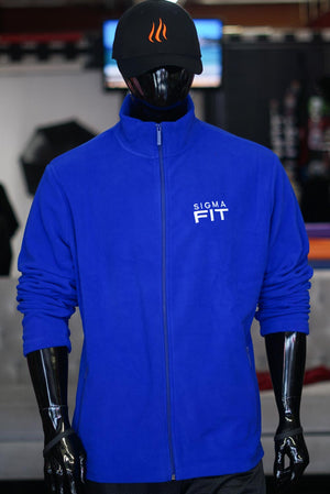 Sigma FIT polar fleece jacket, blue