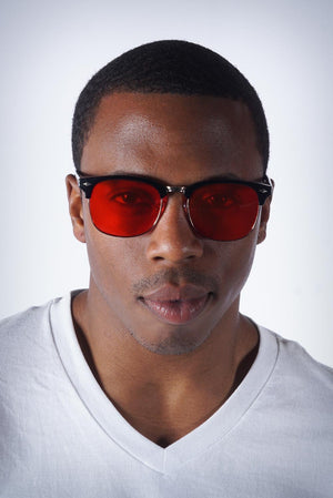 Santa Monica sunglasses, red