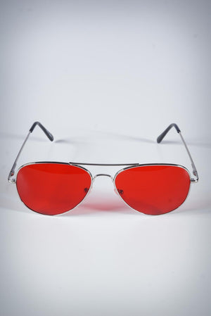 Atlanta sunglasses, red
