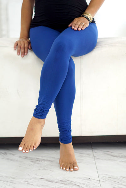 000 Klassy leggings, royal blue