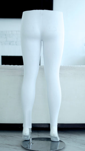 000 Klassy leggings, white (plus)