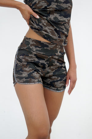 GI Jane shorts/top set