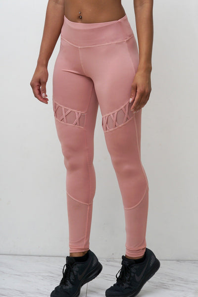 Pink Fox leggings