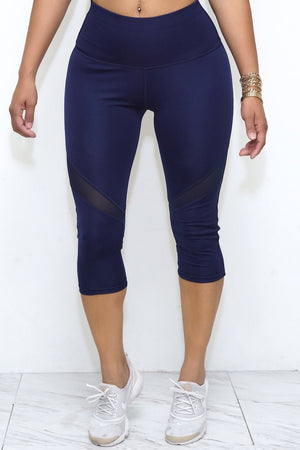 Go For It! capris, blue