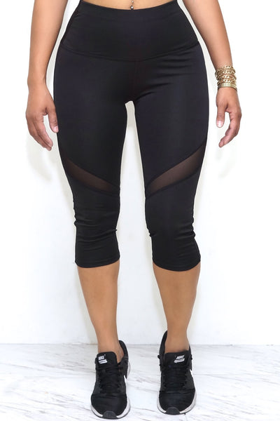 Go For It! capris, black