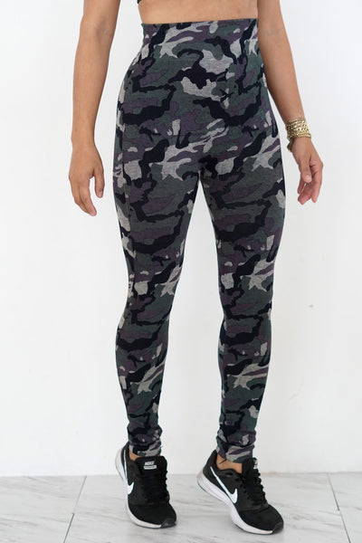 Purple Army premium leggings