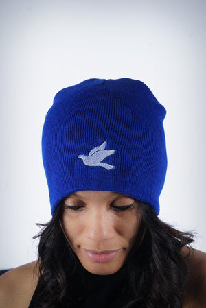 Forever Finer skullie, blue
