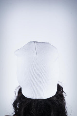 Forever Finer skullie, white