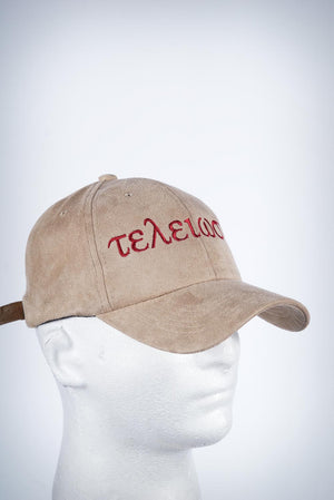 Nupes Only τελείωσις sport cap, kream suede