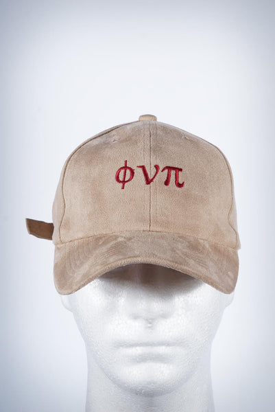 Nupes Only ϕνπ sport cap, kream suede