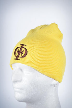 IPT Icon skullie beanie, gold