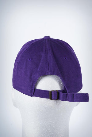 Set Some Sh*t Owt polo dad hat, purple