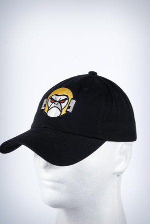 SuperApe polo dad hat, black