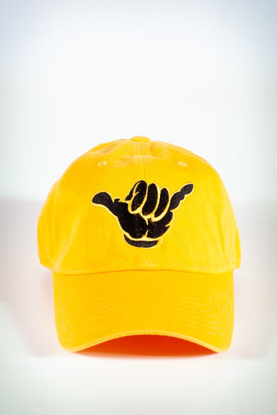 A-Phi-A polo dad hat, gold