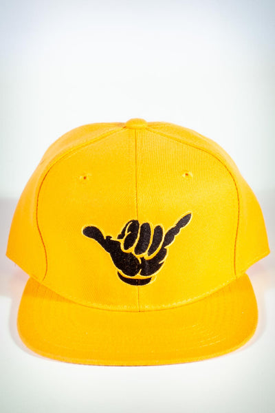 A-Phi-A fitted cap, gold