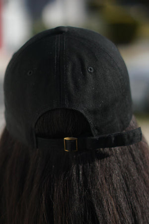 20 Pearls polo dad hat, black