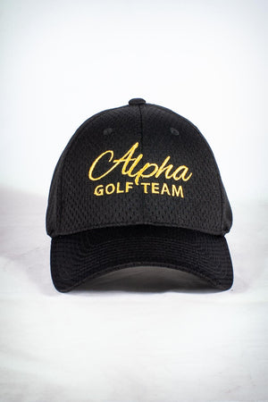 Golf Team, ALPHA fitted sport cap, black