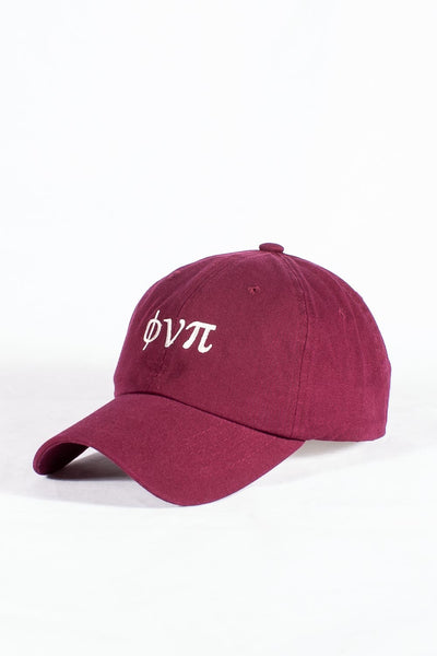 Nupes Only ϕνπ polo dad hat, krimson