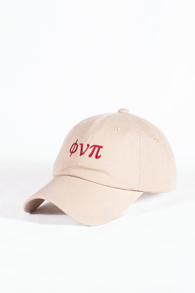 Nupes Only ϕνπ polo dad hat, kream