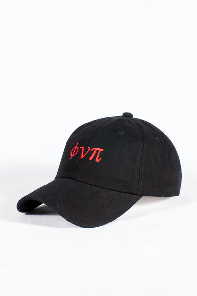 Nupes Only ϕνπ polo dad hat, black