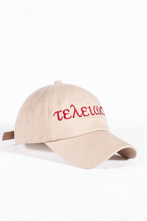 Nupes Only τελείωσις polo dad hat, kream