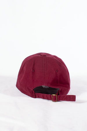 Nupes Only τελείωσις polo dad hat, krimson