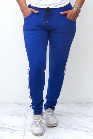 Miss Fabulous hybrid joggings, blue
