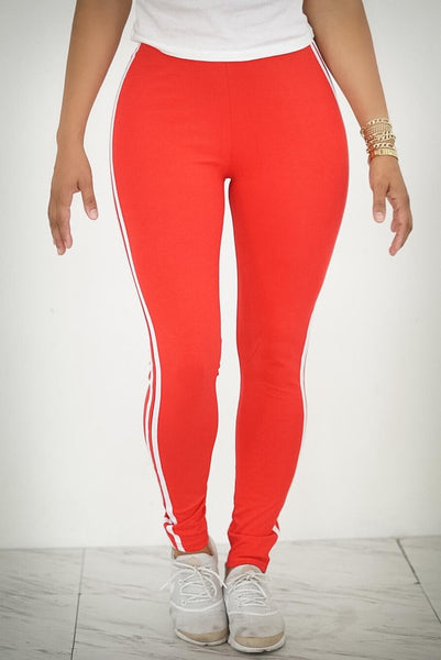 Motorsport advanced leggings, red