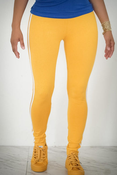 Motorsport advanced leggings, gold