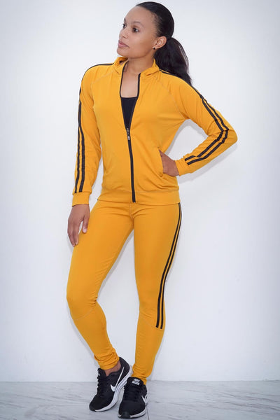 Black Mamba leggings/track jacket set