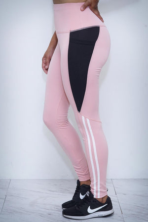 Speed Racer premium leggings, pink